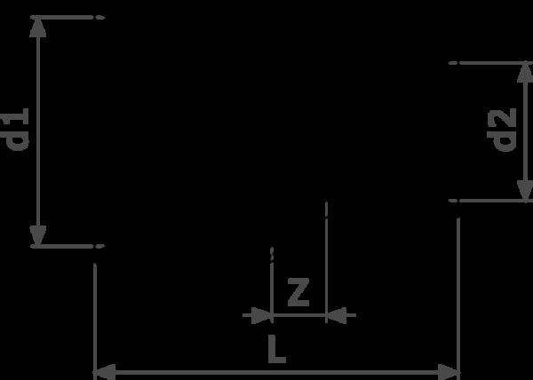 ZMm95240l25 - медь - соединение под пайку  Cu = гарантия качества Cu